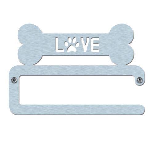 Dog Leash Wall Hanger Love Bone