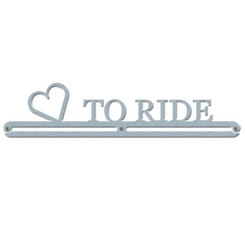 Love to Ride rosette hanger