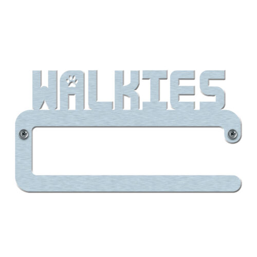 Dog Lead Hanger with word walkies